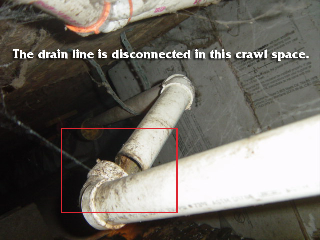 drain-line-diconnected-in-crawl-space2